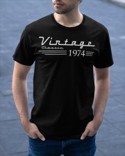 Vintage Classic 1974 Classic T-Shirt apparel-classic-tshirt-lifestyle-front-46