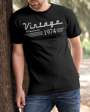 Vintage Classic 1974 Classic T-Shirt apparel-classic-tshirt-lifestyle-front-51