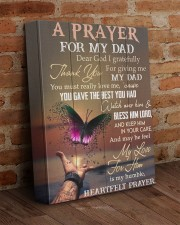 Dear God I Gratefully For Giving Dad To Daughter 11x14 Gallery Wrapped Canvas Prints aos-canvas-pgw-11x14-lifestyle-front-09