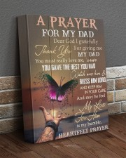 Dear God I Gratefully For Giving Dad To Daughter 11x14 Gallery Wrapped Canvas Prints aos-canvas-pgw-11x14-lifestyle-front-10