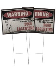 Dogo dog this property is protected 24x18 Yard Sign aos-yard-sign-24x18-ghosted-front-02
