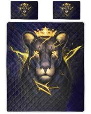 Queen Lion Queen Quilt Bed Set front