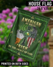 """American By Birth Irish By The Grace Of God 29.5""""x39.5"""" House Flag aos-house-flag-29-5-x-39-5-ghosted-lifestyle-14"""