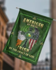 """American By Birth Irish By The Grace Of God 29.5""""x39.5"""" House Flag aos-house-flag-29-5-x-39-5-ghosted-lifestyle-15"""