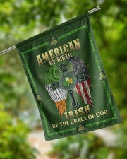 """American By Birth Irish By The Grace Of God 29.5""""x39.5"""" House Flag aos-house-flag-29-5-x-39-5-ghosted-lifestyle-17"""