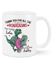 Personalized Name Thank you for all the roargasms Mug front