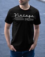 vingate classic 1923 Classic T-Shirt apparel-classic-tshirt-lifestyle-front-46