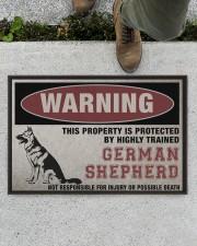 "german this property is protected Doormat 22.5"" x 15""  aos-doormat-22-5x15-lifestyle-front-01"