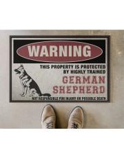"german this property is protected Doormat 22.5"" x 15""  aos-doormat-22-5x15-lifestyle-front-04"