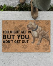 """pitbull you might get in Doormat 22.5"""" x 15""""  aos-doormat-22-5x15-lifestyle-front-01"""