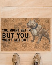 """pitbull you might get in Doormat 22.5"""" x 15""""  aos-doormat-22-5x15-lifestyle-front-02"""