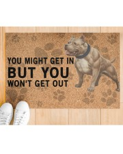 """pitbull you might get in Doormat 22.5"""" x 15""""  aos-doormat-22-5x15-lifestyle-front-03"""