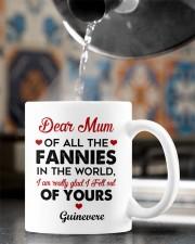 Personalized Dear Mum Of All The Fannies In World Mug ceramic-mug-lifestyle-64