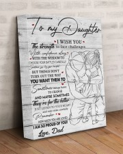 I Wish U Strength To Face Challenges To Daughter 11x14 Gallery Wrapped Canvas Prints aos-canvas-pgw-11x14-lifestyle-front-07