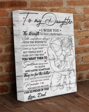 I Wish U Strength To Face Challenges To Daughter 11x14 Gallery Wrapped Canvas Prints aos-canvas-pgw-11x14-lifestyle-front-09
