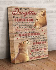 Never Forget That I Love U Lion Mom To Daughter 11x14 Gallery Wrapped Canvas Prints aos-canvas-pgw-11x14-lifestyle-front-07