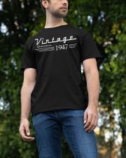 vingate classic 1947 Classic T-Shirt apparel-classic-tshirt-lifestyle-front-47
