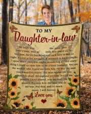"""We Both Love The Same Man To Daughter-In-Law Fleece Blanket - 50"""" x 60"""" aos-coral-fleece-blanket-50x60-lifestyle-front-01b"""