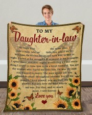 """We Both Love The Same Man To Daughter-In-Law Fleece Blanket - 50"""" x 60"""" aos-coral-fleece-blanket-50x60-lifestyle-front-01c"""