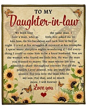 """We Both Love The Same Man To Daughter-In-Law Fleece Blanket - 50"""" x 60"""" front"""