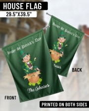 """The Johnsos Happy Patrick's Day 29.5""""x39.5"""" House Flag aos-house-flag-29-5-x-39-5-ghosted-lifestyle-02"""