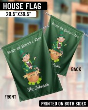 """The Johnsos Happy Patrick's Day 29.5""""x39.5"""" House Flag aos-house-flag-29-5-x-39-5-ghosted-lifestyle-07"""