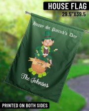 """The Johnsos Happy Patrick's Day 29.5""""x39.5"""" House Flag aos-house-flag-29-5-x-39-5-ghosted-lifestyle-13"""