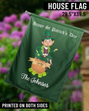 """The Johnsos Happy Patrick's Day 29.5""""x39.5"""" House Flag aos-house-flag-29-5-x-39-5-ghosted-lifestyle-14"""