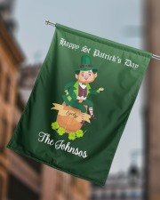 """The Johnsos Happy Patrick's Day 29.5""""x39.5"""" House Flag aos-house-flag-29-5-x-39-5-ghosted-lifestyle-15"""