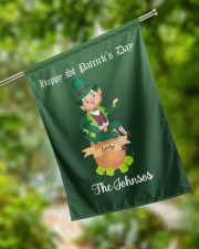 """The Johnsos Happy Patrick's Day 29.5""""x39.5"""" House Flag aos-house-flag-29-5-x-39-5-ghosted-lifestyle-17"""