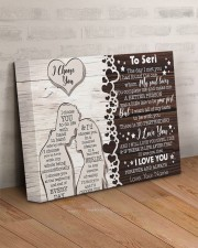 I Choose You The Day I Met You Custom Name 14x11 Gallery Wrapped Canvas Prints aos-canvas-pgw-14x11-lifestyle-front-07