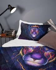 Lioness 3D Queen Quilt Bed Set aos-queen-quilt-bed-set-lifestyle-front-09