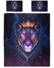 Lioness 3D Queen Quilt Bed Set front