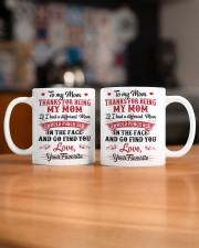 Thanks for being my mom Mug ceramic-mug-lifestyle-51