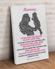 To Mom I've Only Been Your Little One Custom Name 24x36 Gallery Wrapped Canvas Prints aos-canvas-pgw-24x36-lifestyle-front-01