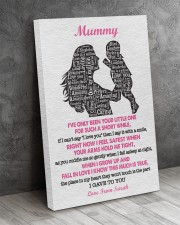 To Mom I've Only Been Your Little One Custom Name 24x36 Gallery Wrapped Canvas Prints aos-canvas-pgw-24x36-lifestyle-front-02