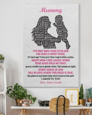 To Mom I've Only Been Your Little One Custom Name 24x36 Gallery Wrapped Canvas Prints aos-canvas-pgw-24x36-lifestyle-front-18