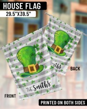 """The Smith Shamrock Hat 29.5""""x39.5"""" House Flag aos-house-flag-29-5-x-39-5-ghosted-lifestyle-07"""