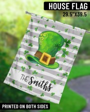 """The Smith Shamrock Hat 29.5""""x39.5"""" House Flag aos-house-flag-29-5-x-39-5-ghosted-lifestyle-13"""
