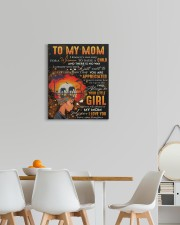 It's Not Easy For A Woman To Raise A Child To Mom 16x20 Gallery Wrapped Canvas Prints aos-canvas-pgw-16x20-lifestyle-front-05