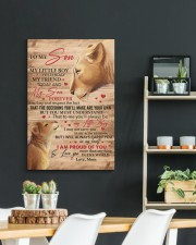 My Little Boy Yesterday Lion Mom To Son 20x30 Gallery Wrapped Canvas Prints aos-canvas-pgw-20x30-lifestyle-front-04