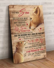 My Little Boy Yesterday Lion Mom To Son 20x30 Gallery Wrapped Canvas Prints aos-canvas-pgw-20x30-lifestyle-front-07