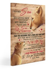 My Little Boy Yesterday Lion Mom To Son 20x30 Gallery Wrapped Canvas Prints front