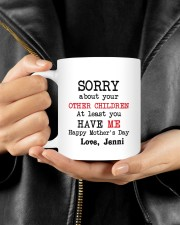 Personalized Sorry About Your Other Children -Mom Mug ceramic-mug-lifestyle-25