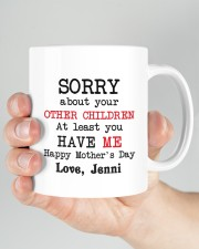 Personalized Sorry About Your Other Children -Mom Mug ceramic-mug-lifestyle-26