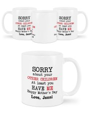 Personalized Sorry About Your Other Children -Mom Mug ceramic-mug-lifestyle-45