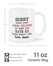 Personalized Sorry About Your Other Children -Mom Mug ceramic-mug-lifestyle-62