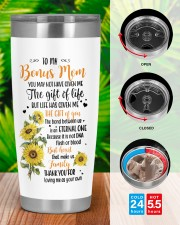 Personalized U May Not Have Given Me To Bonus Mom 20oz Tumbler aos-20oz-tumbler-lifestyle-front-46