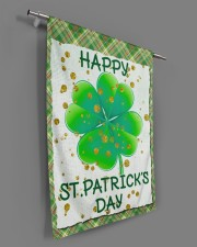 """Shamrock Happy Patrick's Day 29.5""""x39.5"""" House Flag aos-house-flag-29-5-x-39-5-ghosted-lifestyle-18"""