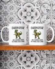 Daddy Roar Like A Normal Daddy To Dad Mug ceramic-mug-lifestyle-47